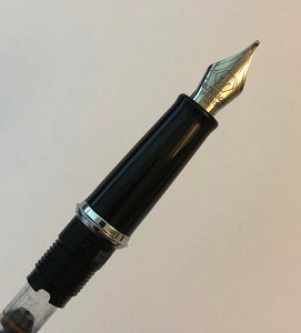 Waterman Hemisphere Chrome, nib & section