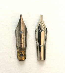 Super Deluxe, Chrome Fine / Nib & Section