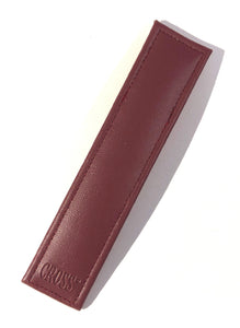 Pen Case,  Burgundy, Cross Single