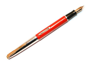 Waterman, Lever-fill Red set