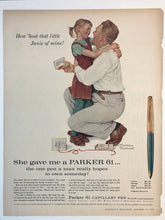 Load image into Gallery viewer, Vintage Magazine Advertising ; Parker 61, Capillary Pen