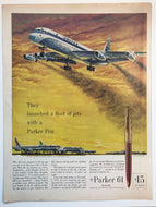 Vintage Magazine Advertising ; Parker 61