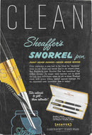 National Geographic Advertising, Sheaffer's Valiant TM Snorkel