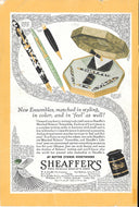 Sheaffer's Balance LIFETIME desk sets, Copr. 1930