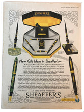 Load image into Gallery viewer, Vintage Magazine Advertising ; Sheaffer's Lifetime