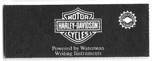 Load image into Gallery viewer, Waterman's Harley Davidson Fountain Pen, Black & Chrome