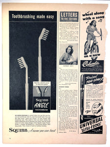 Vintage Magazine Advertising ; Universal Uni-flow
