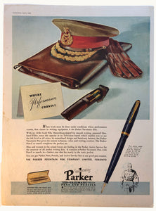 Parker Vacumatic, Chatelaine April 1944