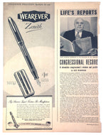 Vintage Magazine Advertising ; Wearever