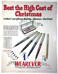 Wearever Christmas, copr. 1950