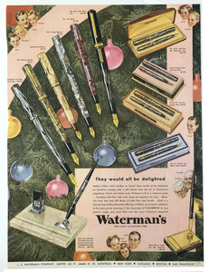 Waterman's, Chatelaine, December, 1937