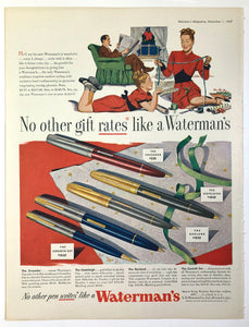 Waterman's Taperite, Maclean's Magazine, December 1, 1947