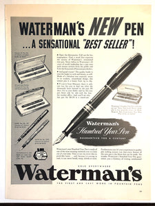 Waterman's Hundred Year Pen