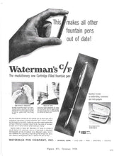 Load image into Gallery viewer, Waterman c/f Black & Chrome