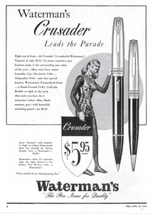 Waterman's Crusader, Time 1948