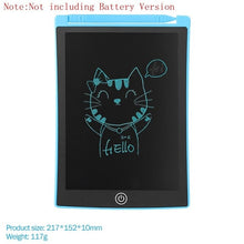 Load image into Gallery viewer, 8.5 Inch Portable Smart LCD Writing Tablet Electronic Notepad Drawing Graphics Handwriting Pad Board With CR2020 Button Battery