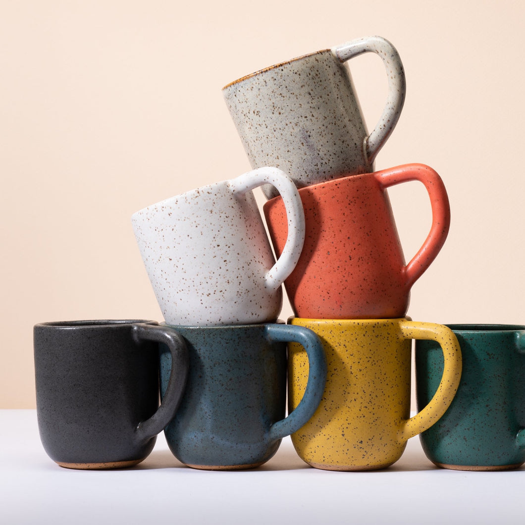 Speckled Round Mug- Choose your color(PRE-ORDER)