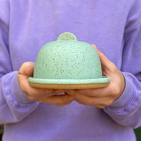 Butter Dish-Solid Colors