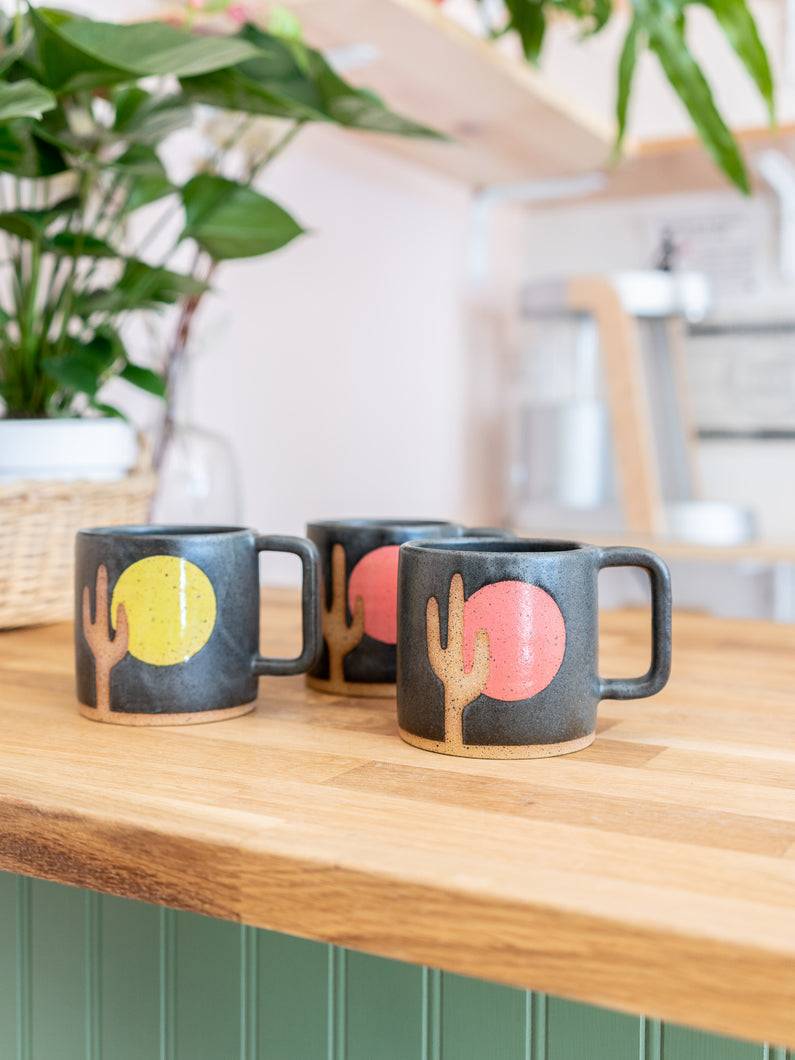 Cactus Sunrise Mugs