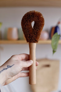 Coconut Kitchen & Home scrub Brush