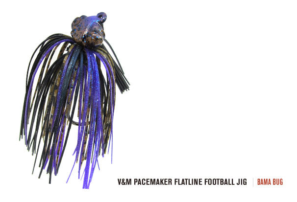V&M PACEMAKER SERIES FLATLINE FOOTBALL JIG