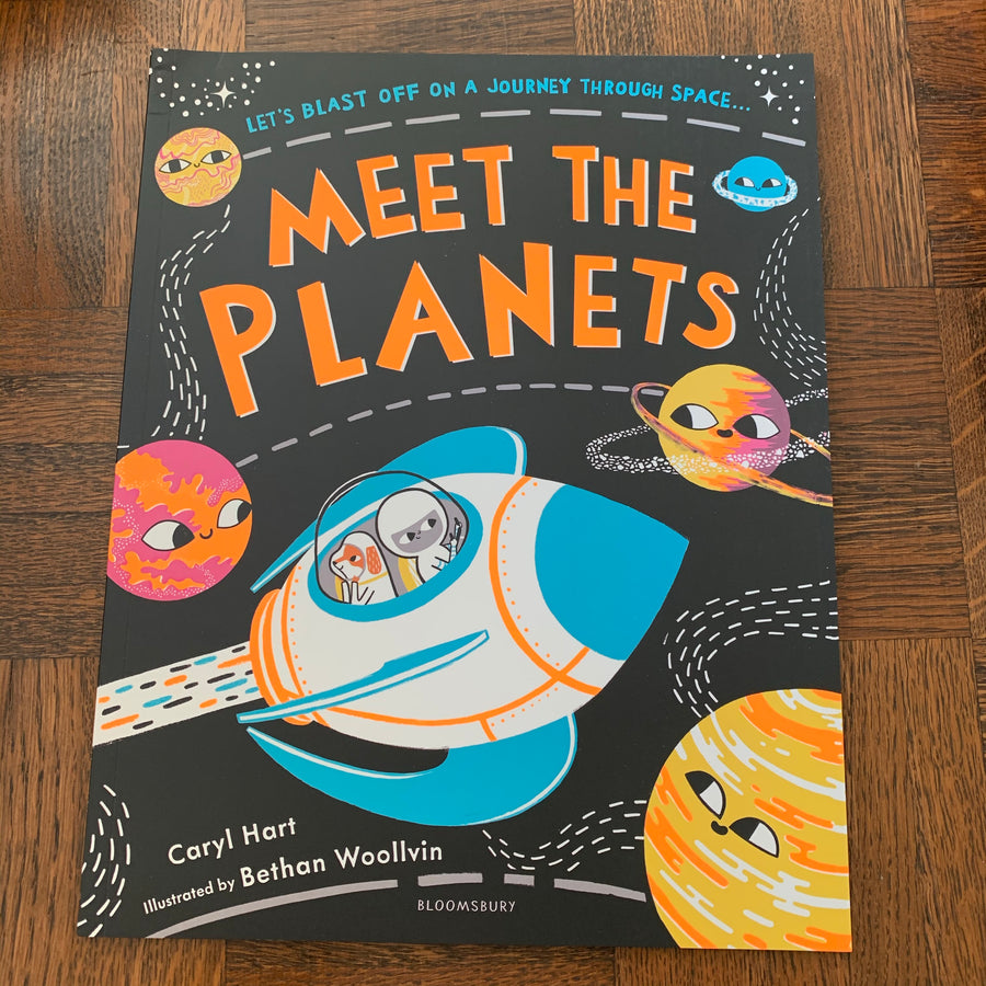 Meet The Planets | Caryl Hart