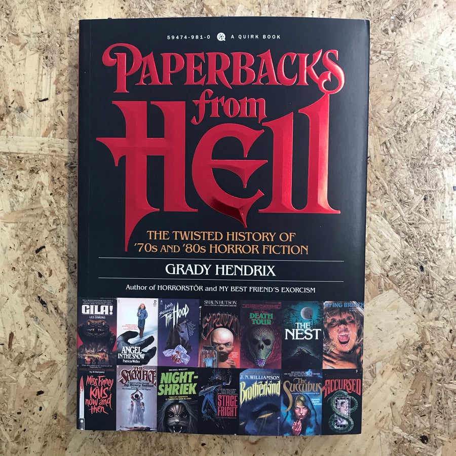 Paperbacks From Hell | Grady Hendrix