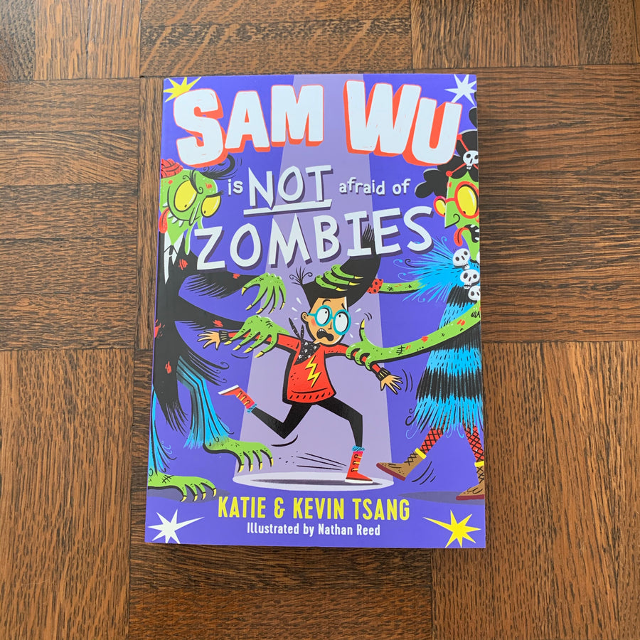Sam Wu is Not Afraid of Zombies | Katie & Kevin Tsang