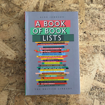 A Book Of Book Lists | Alex Johnson