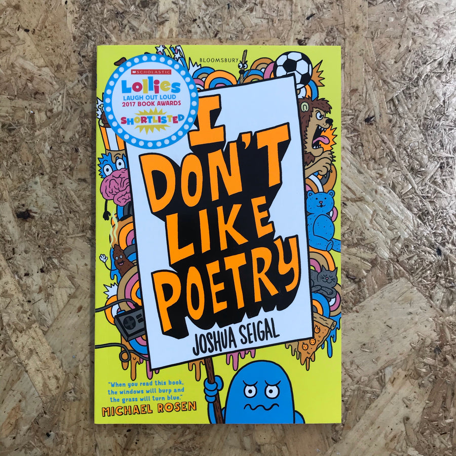 I Don't Like Poetry | Joshua Seigal