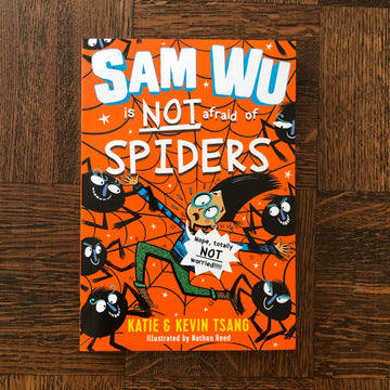 Sam Wu Is Not Afraid Of Spiders | Katie & Kevin Tsang