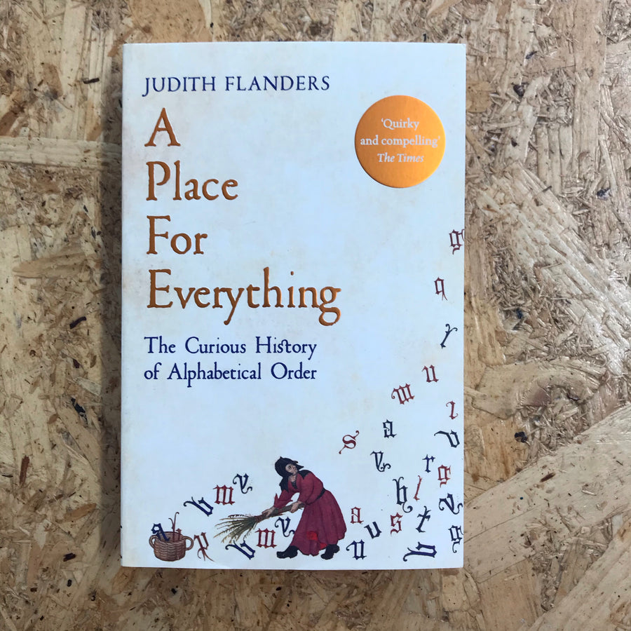 A Place For Everything | Judith Flanders