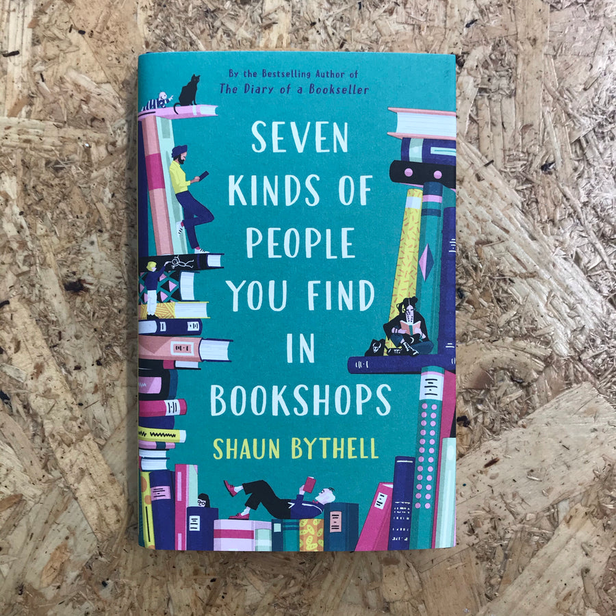 Seven Kinds Of People You Find In Bookshops | Shaun Bythell
