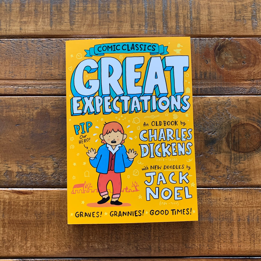 Comic Classics: Great Expectations | Charles Dickens, illustrated by Jack Noel