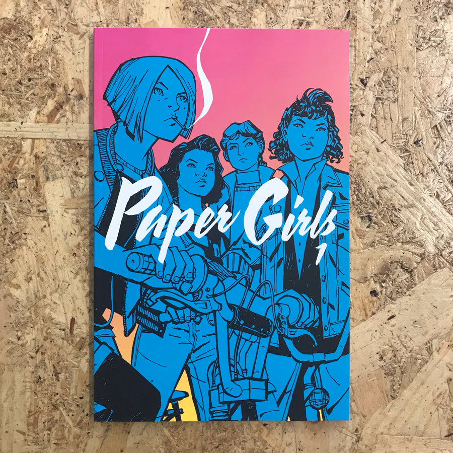 Paper Girls | Brian K. Vaughan