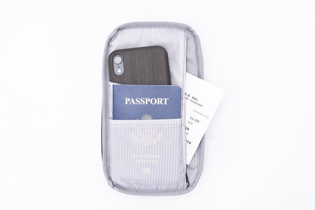 Perry Passport Wallet - Men