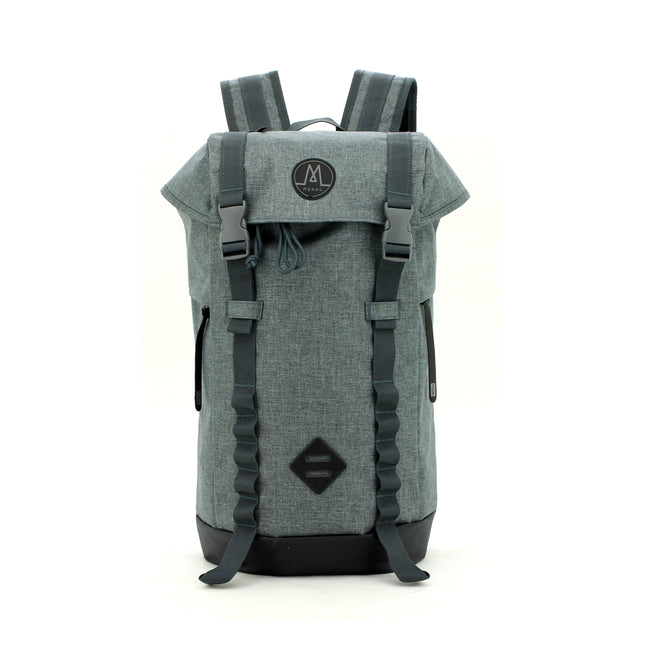 Northside Flip Top Backpack Backpack Moralbags Heather Grey