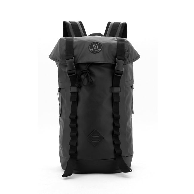 Northside Flip Top Backpack Backpack Moralbags Matt Black