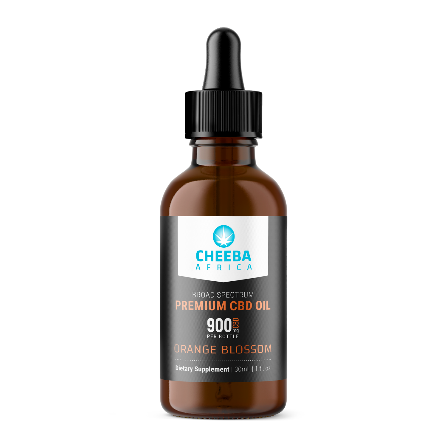 CBD Oil Tincture Orange Blossom 900mg