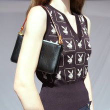 Load image into Gallery viewer, Rare Vintage Louis Vuitton Matte Black Vernis Pochette