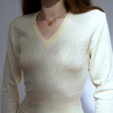 Load image into Gallery viewer, Vintage Christian Dior Monogram Knit Sweater