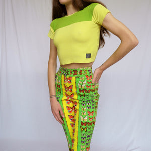 BNWT Archived Vintage Versace Jeans Couture Crop