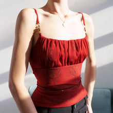 Load image into Gallery viewer, 2000s XOXO Ruched Camisole