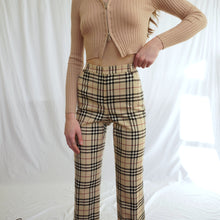 Load image into Gallery viewer, 2000s Burberry Nova Check Trousers