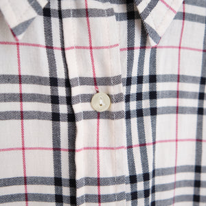 Burberry London Nova Check Button Up Shirt