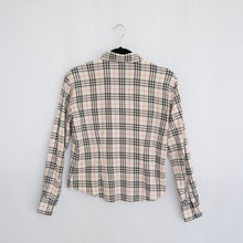 Load image into Gallery viewer, Burberry London Nova Check Button Up Shirt