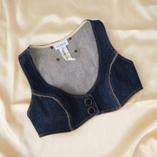 Load image into Gallery viewer, Vintage La Perla Denim Bustier