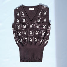 Load image into Gallery viewer, Rare Vintage Playboy Knit Vest