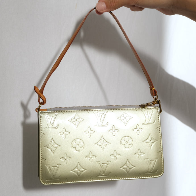 Vintage Louis Vuitton Metallic Vernis Pochette