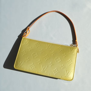 2000s Louis Vuitton Metallic Vernis Pouch